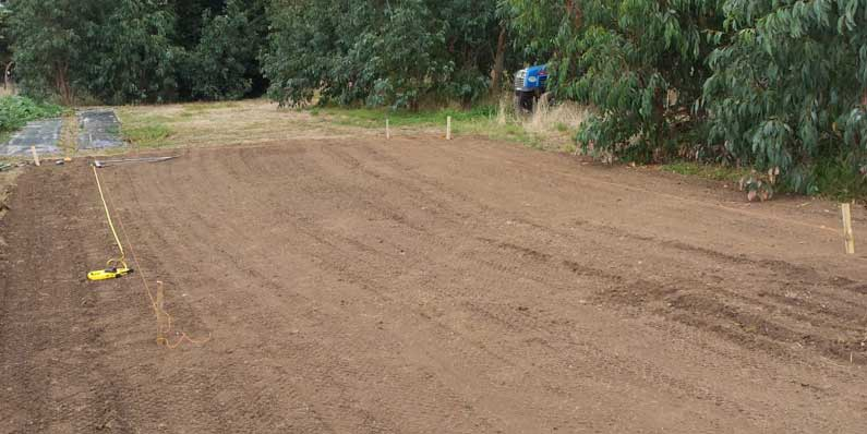 Ground Preparation For Your Polytunnel