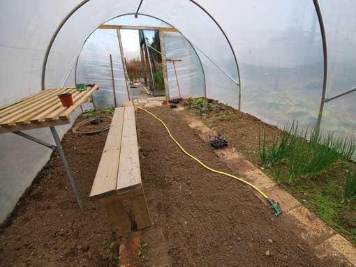 Polytunnel Accessories Tunnel Staging